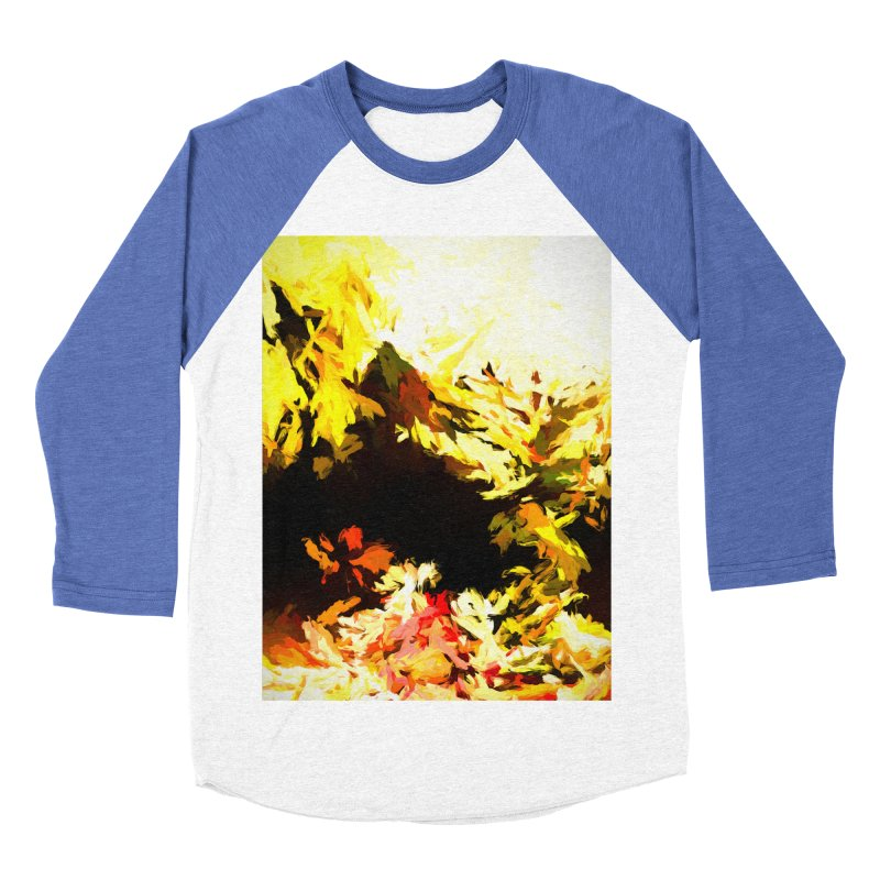 Weeping Woman by the Waterway Men's Baseball Triblend Longsleeve T-Shirt by jackievano's Artist Shop