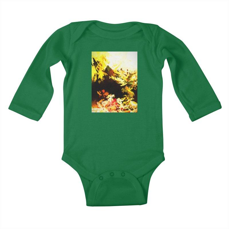 Weeping Woman by the Waterway Kids Baby Longsleeve Bodysuit by jackievano's Artist Shop