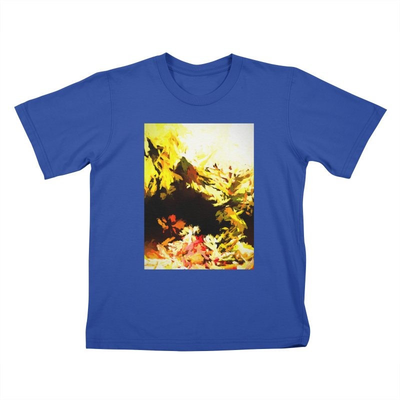 Weeping Woman by the Waterway Kids T-Shirt by jackievano's Artist Shop