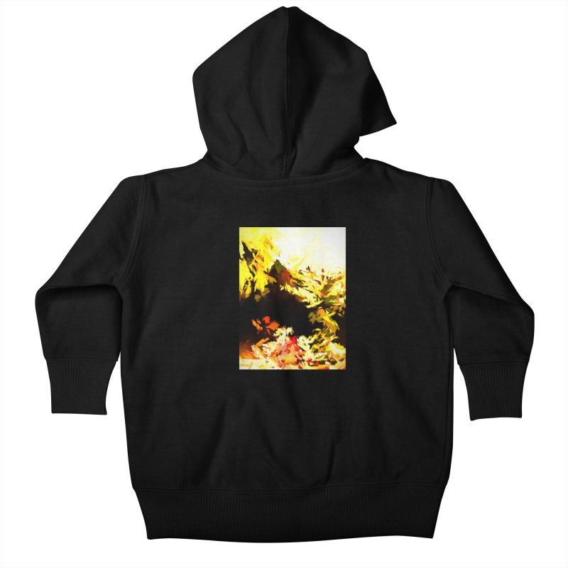 Weeping Woman by the Waterway Kids Baby Zip-Up Hoody by jackievano's Artist Shop