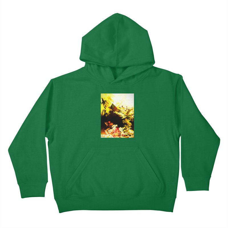 Weeping Woman by the Waterway Kids Pullover Hoody by jackievano's Artist Shop