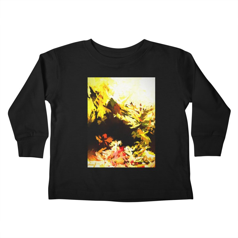 Weeping Woman by the Waterway Kids Toddler Longsleeve T-Shirt by jackievano's Artist Shop