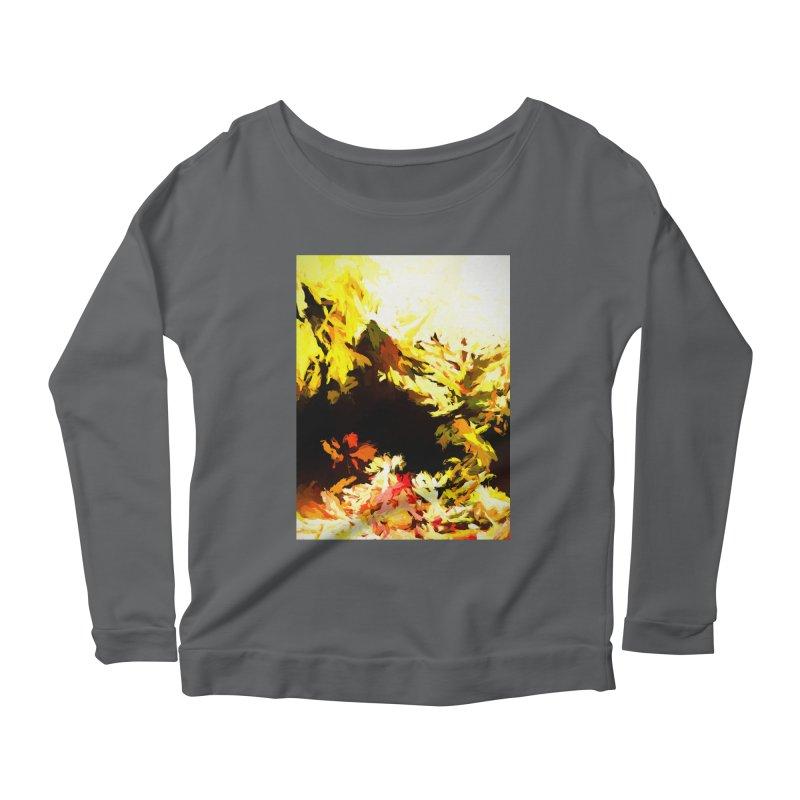 Weeping Woman by the Waterway Women's Scoop Neck Longsleeve T-Shirt by jackievano's Artist Shop
