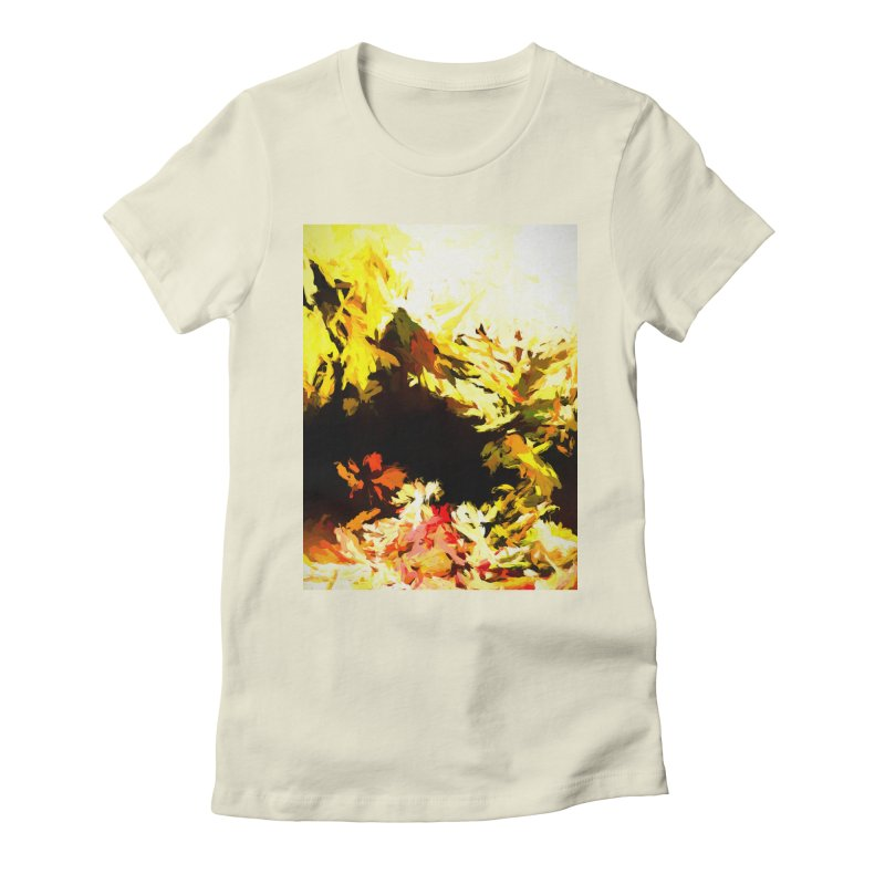 Weeping Woman by the Waterway Women's Fitted T-Shirt by jackievano's Artist Shop