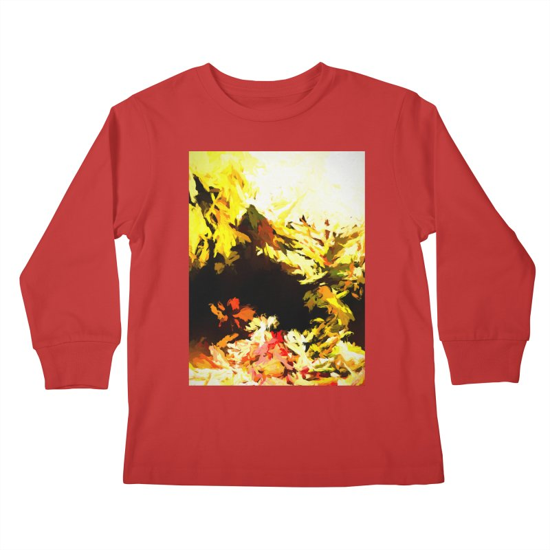 Weeping Woman by the Waterway Kids Longsleeve T-Shirt by jackievano's Artist Shop