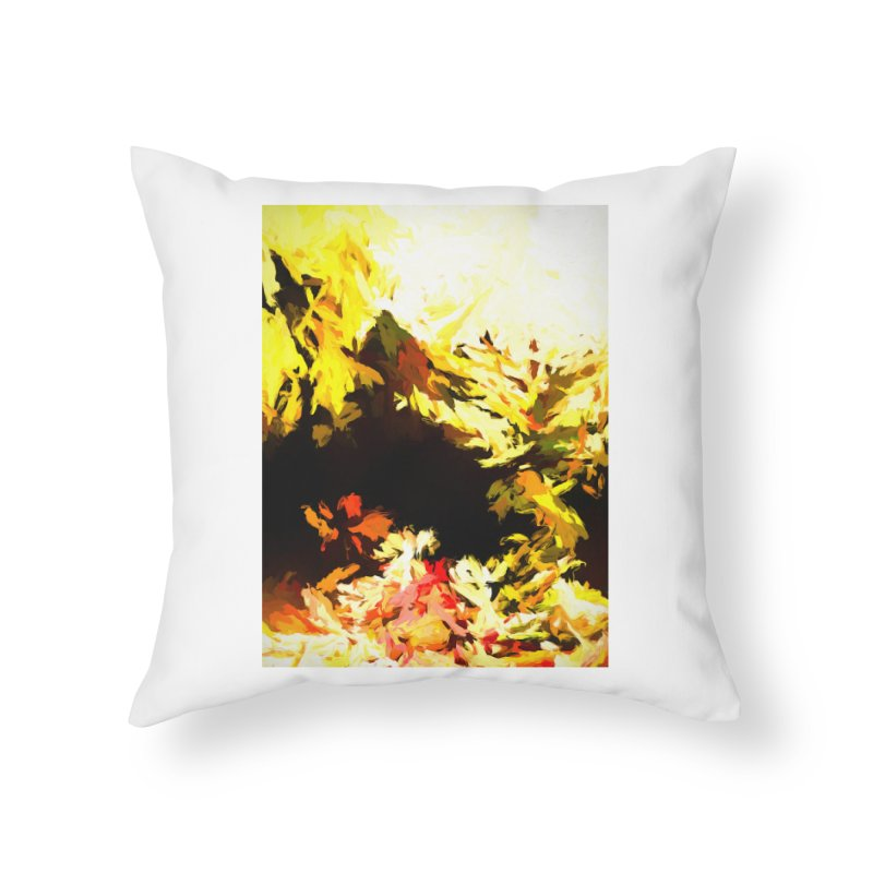 Weeping Woman by the Waterway Home Throw Pillow by jackievano's Artist Shop