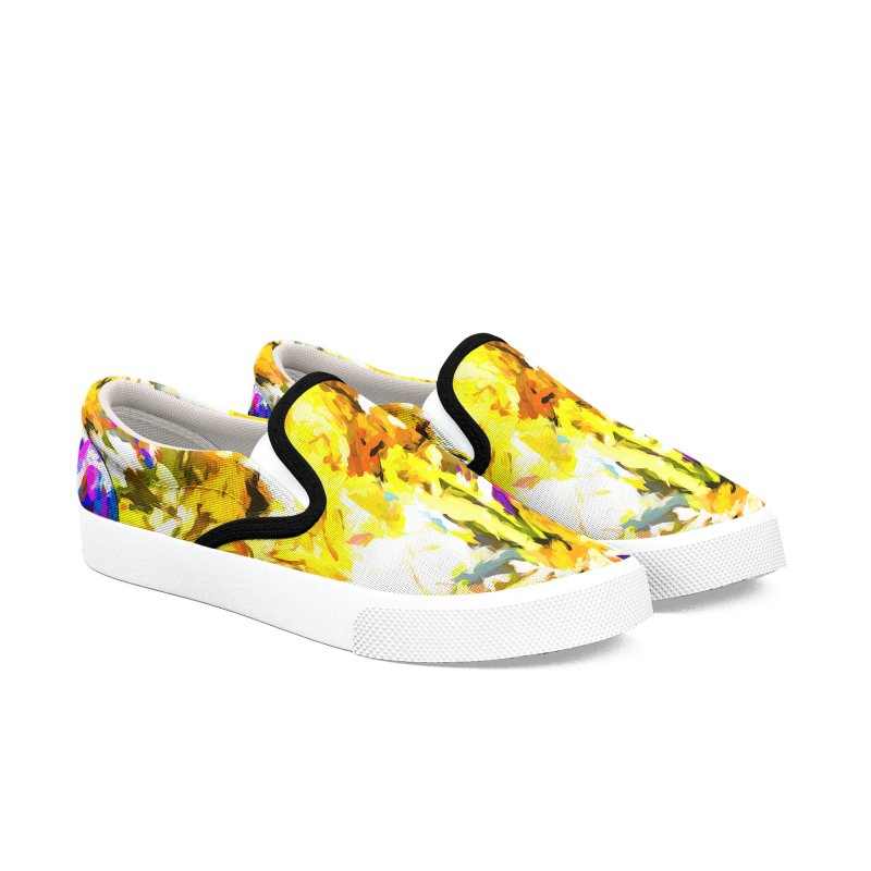 Stealth Attack of the Bird Monster Women's Slip-On Shoes by jackievano's Artist Shop