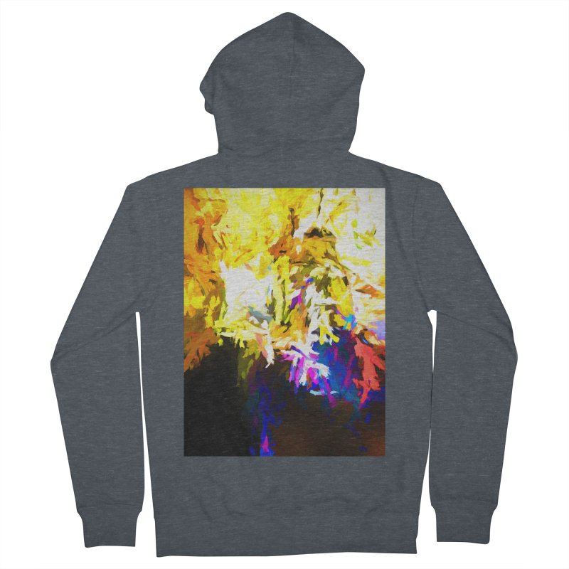Stealth Attack of the Bird Monster Women's French Terry Zip-Up Hoody by jackievano's Artist Shop