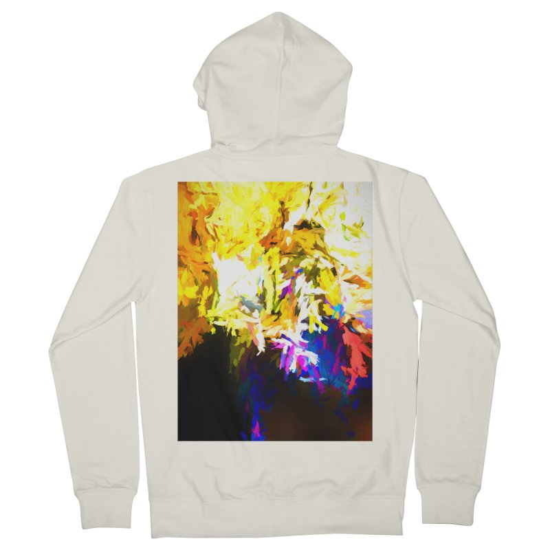 Stealth Attack of the Bird Monster Men's French Terry Zip-Up Hoody by jackievano's Artist Shop