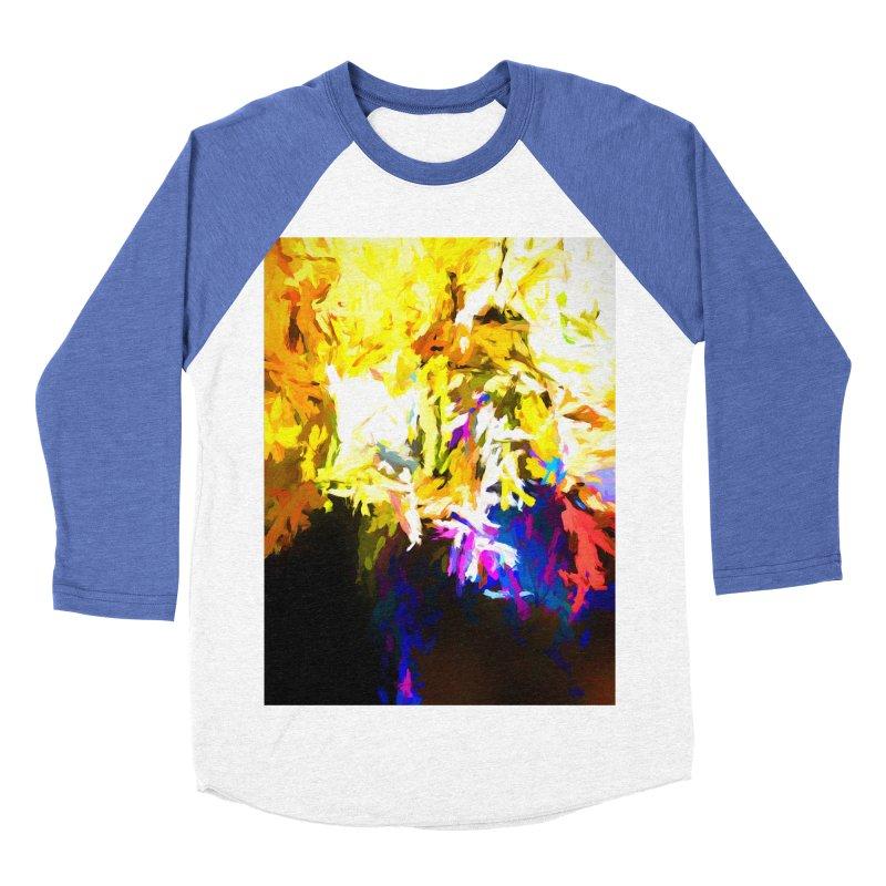 Stealth Attack of the Bird Monster Men's Baseball Triblend Longsleeve T-Shirt by jackievano's Artist Shop