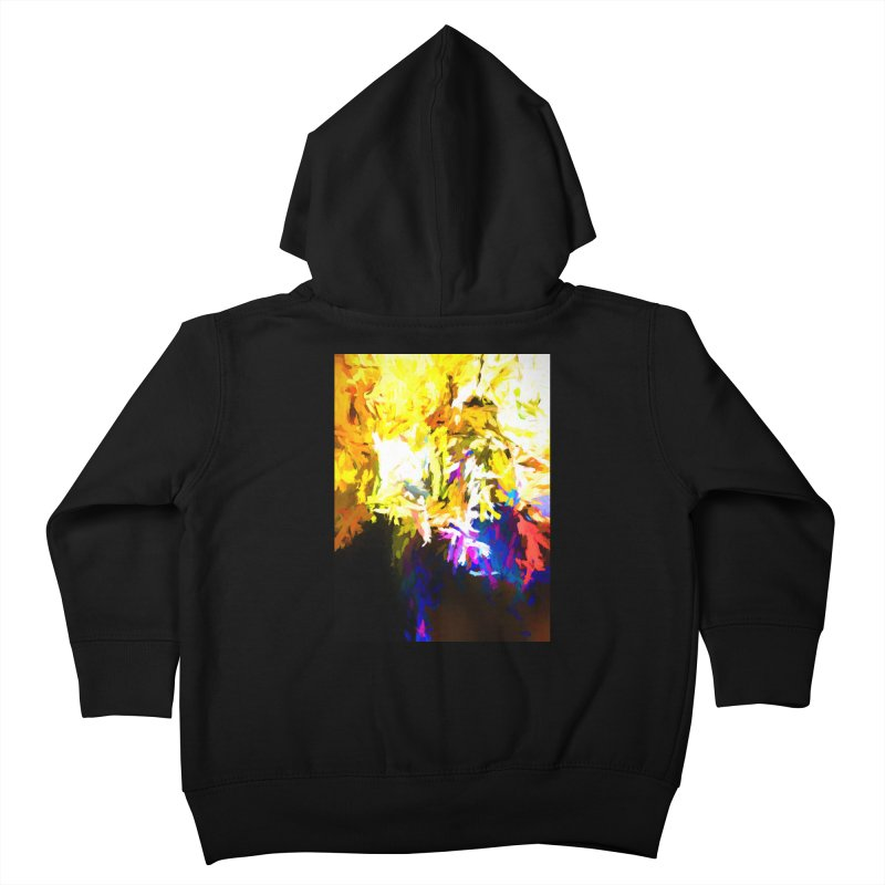 Stealth Attack of the Bird Monster Kids Toddler Zip-Up Hoody by jackievano's Artist Shop