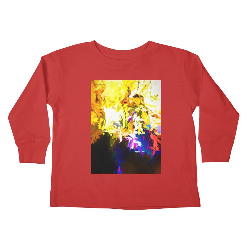 Stealth Attack of the Bird Monster Kids Toddler Longsleeve T-Shirt by jackievano's Artist Shop
