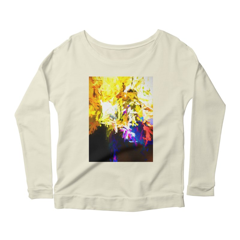 Stealth Attack of the Bird Monster Women's Scoop Neck Longsleeve T-Shirt by jackievano's Artist Shop