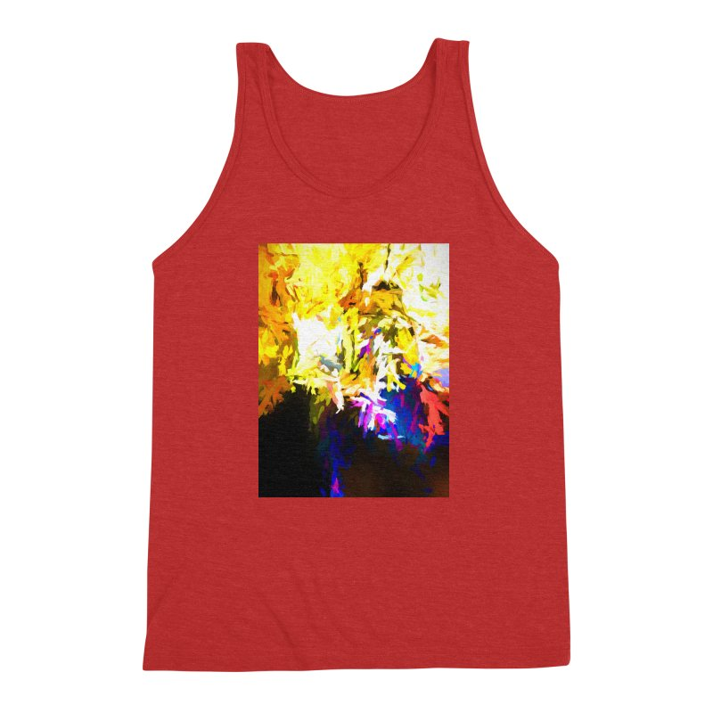 Stealth Attack of the Bird Monster Men's Triblend Tank by jackievano's Artist Shop