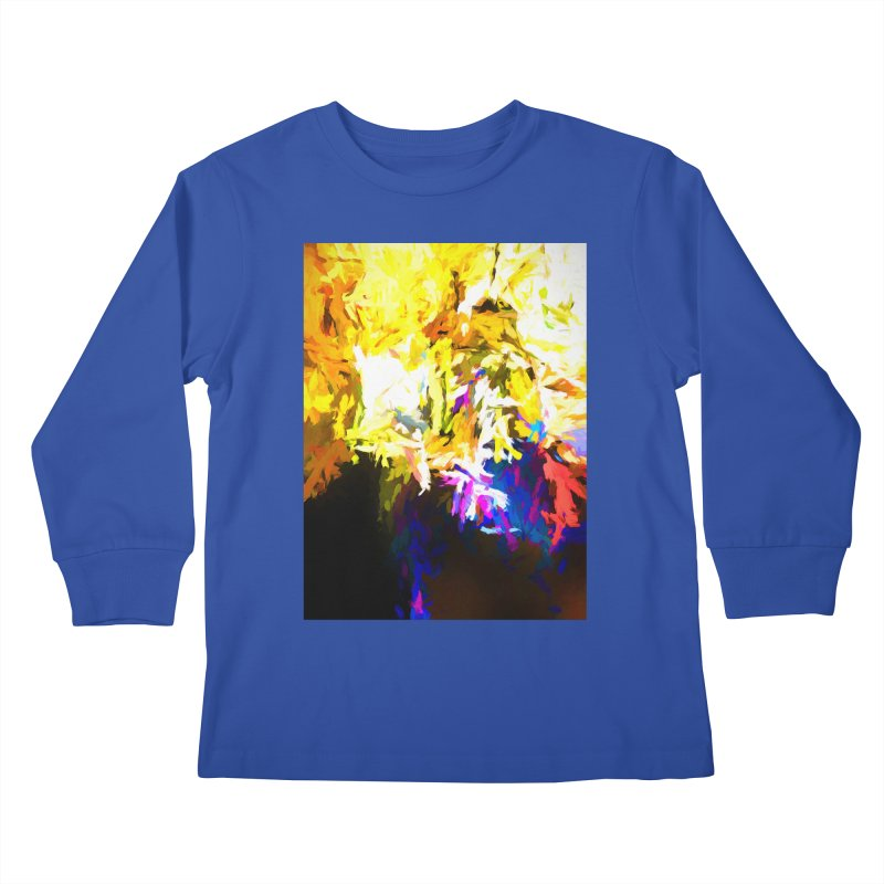 Stealth Attack of the Bird Monster Kids Longsleeve T-Shirt by jackievano's Artist Shop