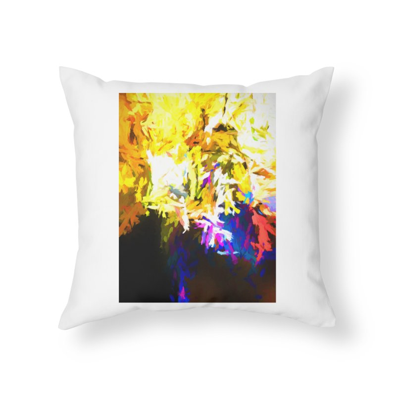 Stealth Attack of the Bird Monster Home Throw Pillow by jackievano's Artist Shop