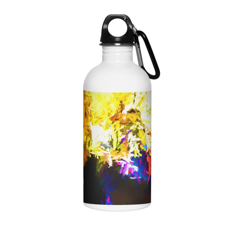 Stealth Attack of the Bird Monster Accessories Water Bottle by jackievano's Artist Shop