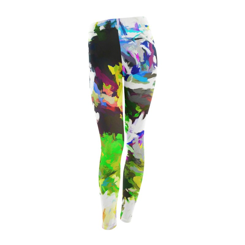 Woman and the Ghost Women's Leggings Bottoms by jackievano's Artist Shop