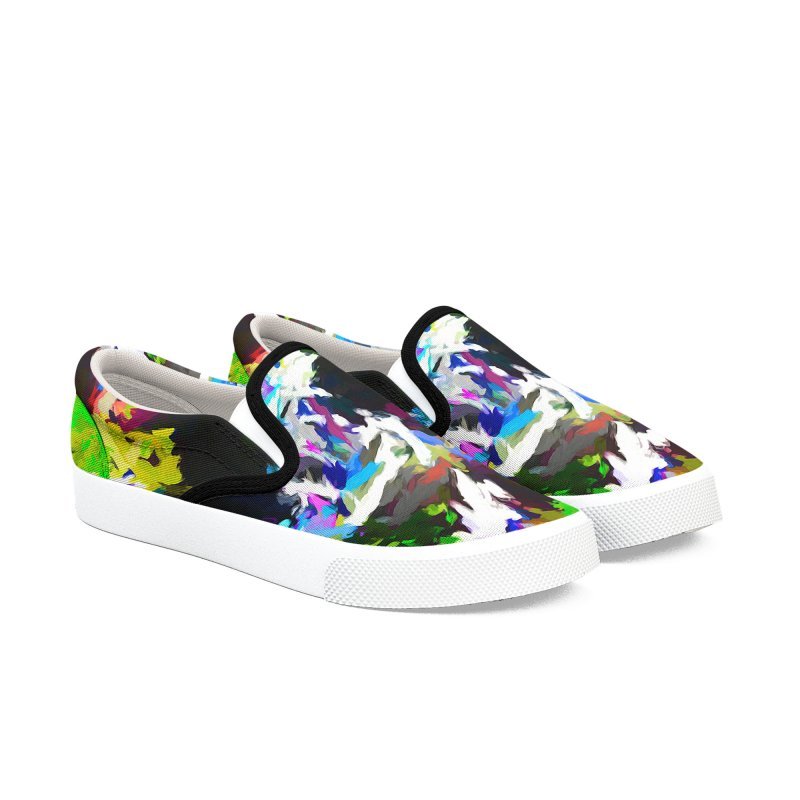 Woman and the Ghost Women's Slip-On Shoes by jackievano's Artist Shop