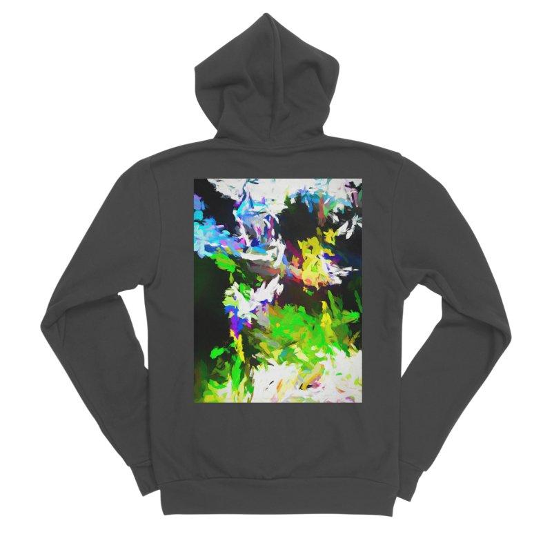 Woman and the Ghost Women's Sponge Fleece Zip-Up Hoody by jackievano's Artist Shop