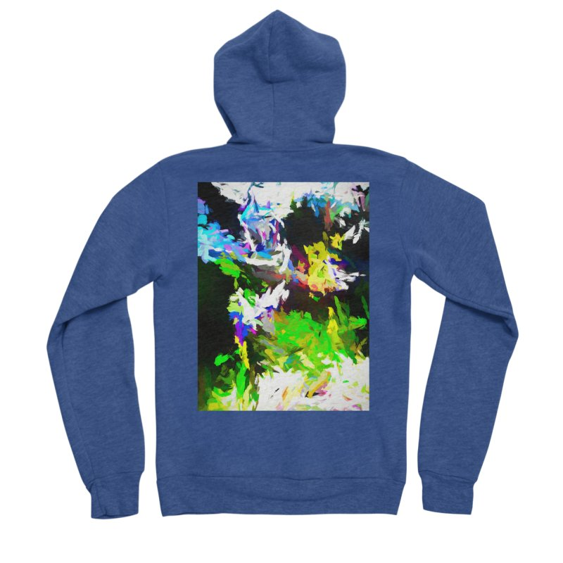 Woman and the Ghost Men's Sponge Fleece Zip-Up Hoody by jackievano's Artist Shop