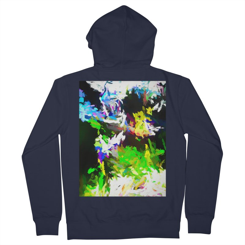 Woman and the Ghost Women's French Terry Zip-Up Hoody by jackievano's Artist Shop