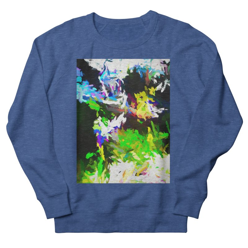Woman and the Ghost Women's French Terry Sweatshirt by jackievano's Artist Shop