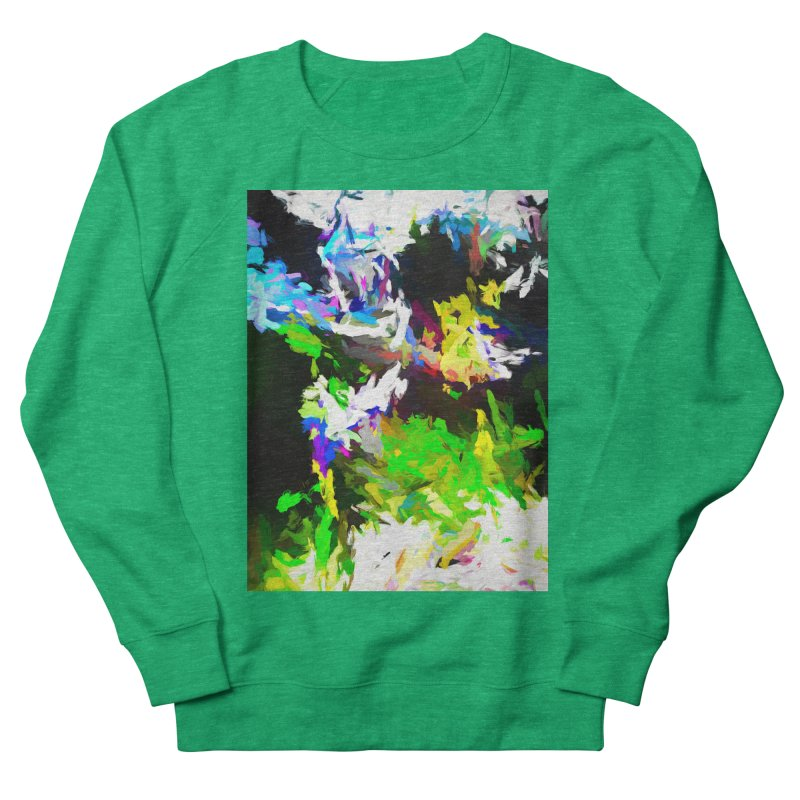 Woman and the Ghost Men's French Terry Sweatshirt by jackievano's Artist Shop