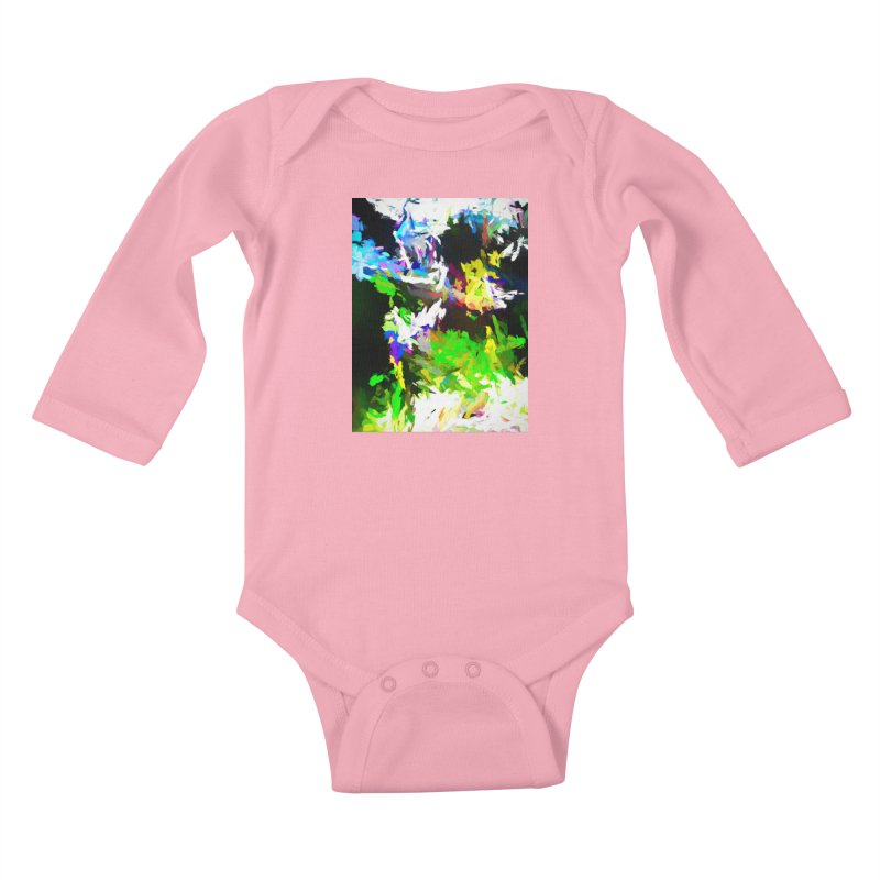 Woman and the Ghost Kids Baby Longsleeve Bodysuit by jackievano's Artist Shop