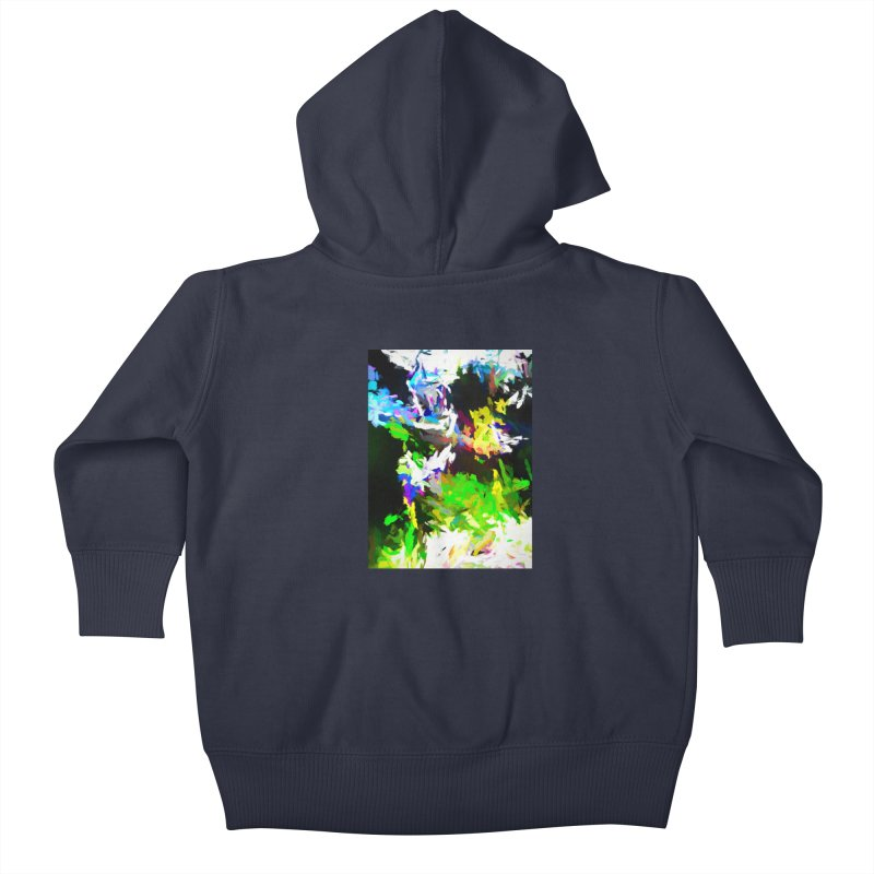 Woman and the Ghost Kids Baby Zip-Up Hoody by jackievano's Artist Shop