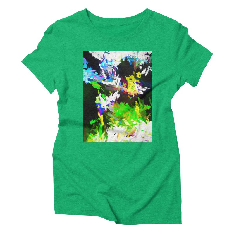 Woman and the Ghost Women's Triblend T-Shirt by jackievano's Artist Shop