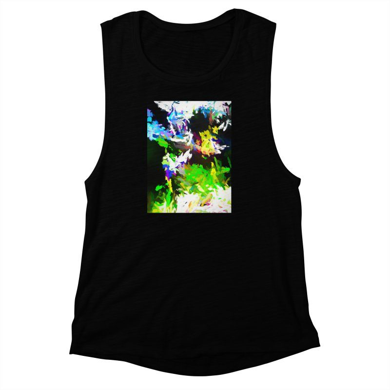 Woman and the Ghost Women's Muscle Tank by jackievano's Artist Shop