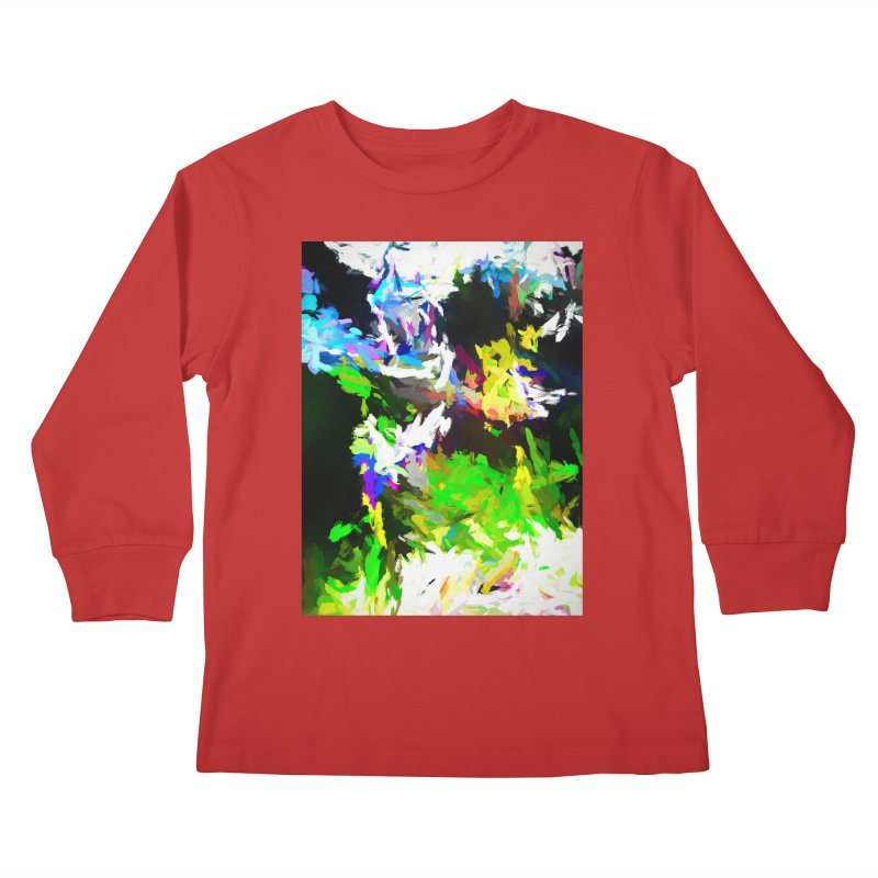 Woman and the Ghost Kids Longsleeve T-Shirt by jackievano's Artist Shop