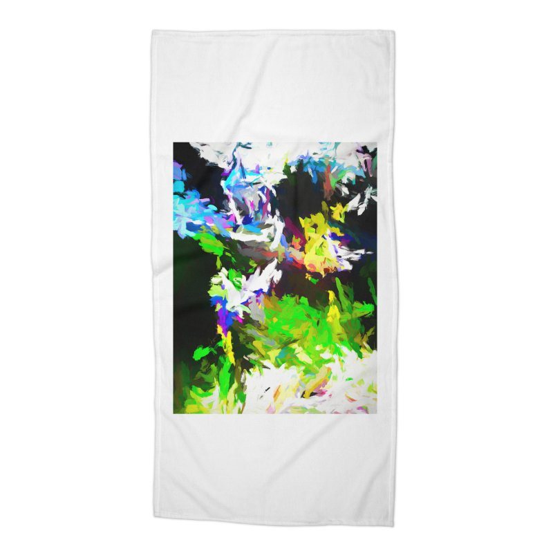 Woman and the Ghost Accessories Beach Towel by jackievano's Artist Shop