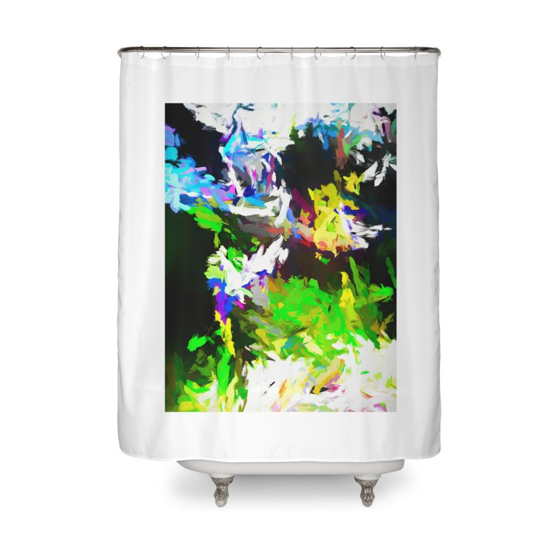 Woman and the Ghost Home Shower Curtain by jackievano's Artist Shop