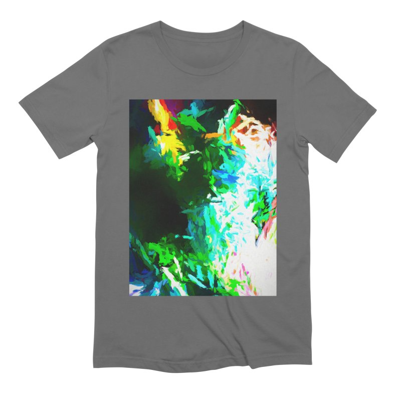 Abyss at the End of the Rainbow Men's Extra Soft T-Shirt by jackievano's Artist Shop
