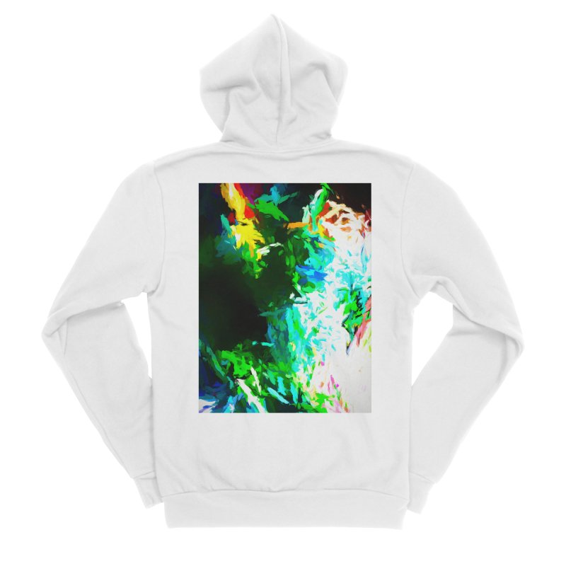 Abyss at the End of the Rainbow Men's Sponge Fleece Zip-Up Hoody by jackievano's Artist Shop