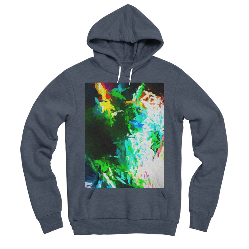 Abyss at the End of the Rainbow Women's Sponge Fleece Pullover Hoody by jackievano's Artist Shop
