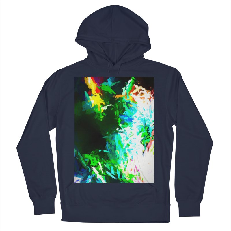 Abyss at the End of the Rainbow Men's French Terry Pullover Hoody by jackievano's Artist Shop