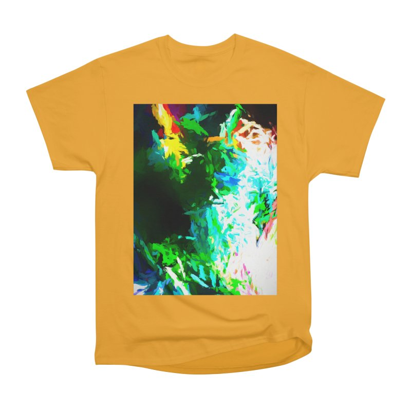 Abyss at the End of the Rainbow Men's Heavyweight T-Shirt by jackievano's Artist Shop