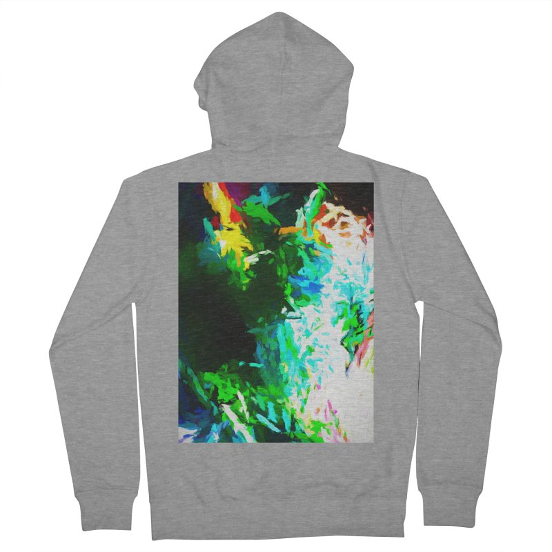 Abyss at the End of the Rainbow Women's French Terry Zip-Up Hoody by jackievano's Artist Shop