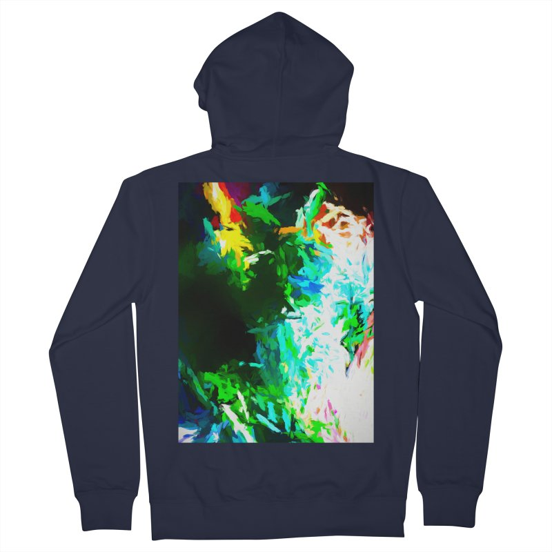Abyss at the End of the Rainbow Men's French Terry Zip-Up Hoody by jackievano's Artist Shop