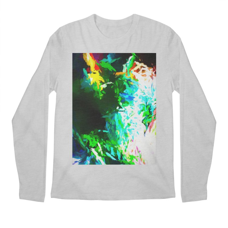 Abyss at the End of the Rainbow Men's Regular Longsleeve T-Shirt by jackievano's Artist Shop