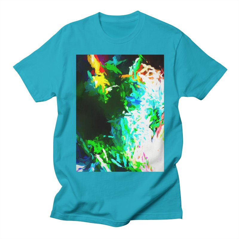 Abyss at the End of the Rainbow Men's Regular T-Shirt by jackievano's Artist Shop