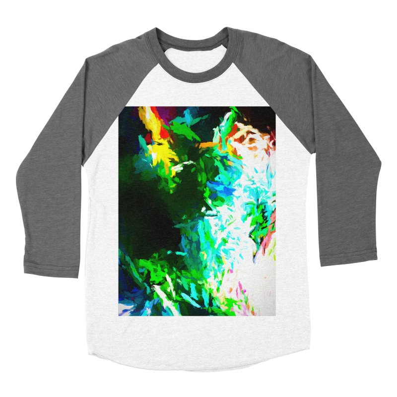 Abyss at the End of the Rainbow Men's Baseball Triblend Longsleeve T-Shirt by jackievano's Artist Shop