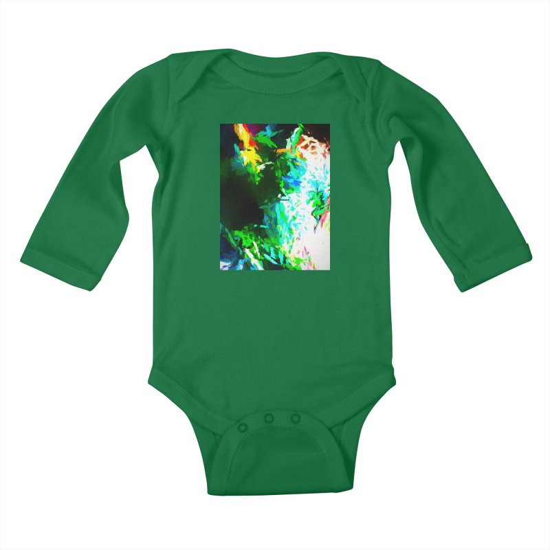 Abyss at the End of the Rainbow Kids Baby Longsleeve Bodysuit by jackievano's Artist Shop