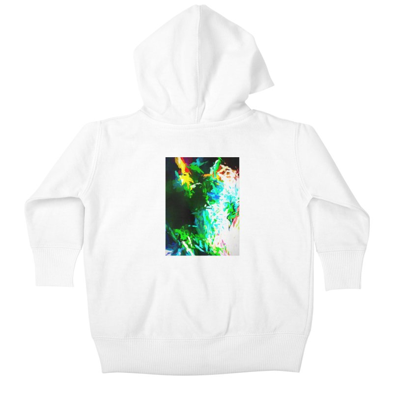 Abyss at the End of the Rainbow Kids Baby Zip-Up Hoody by jackievano's Artist Shop