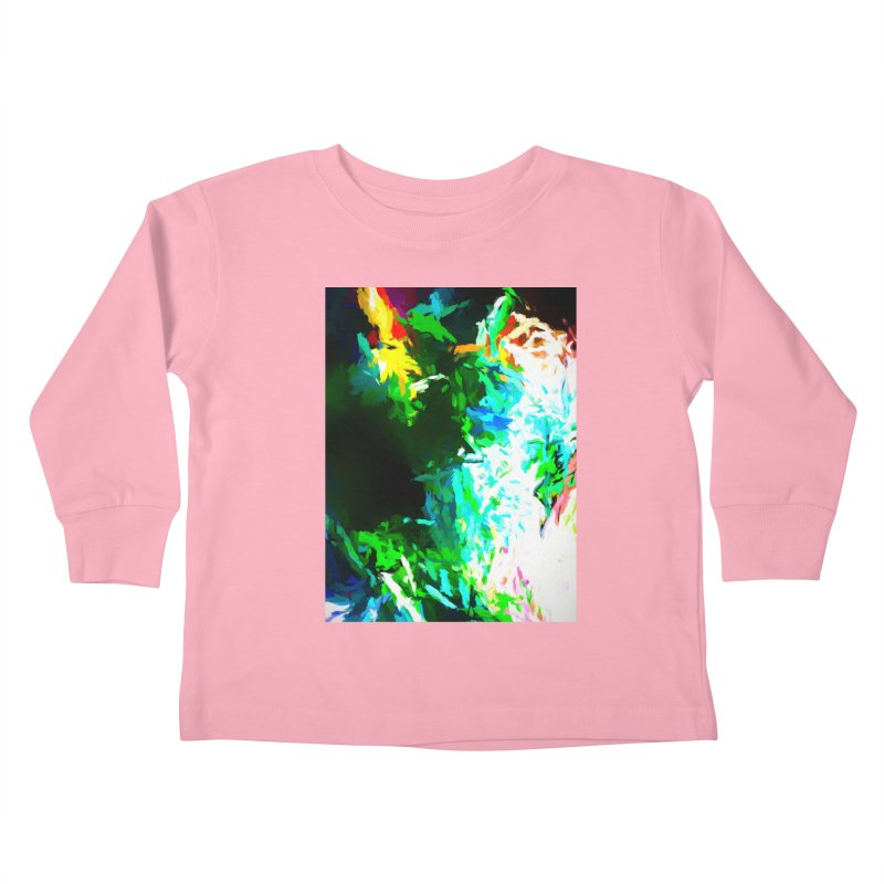 Abyss at the End of the Rainbow Kids Toddler Longsleeve T-Shirt by jackievano's Artist Shop