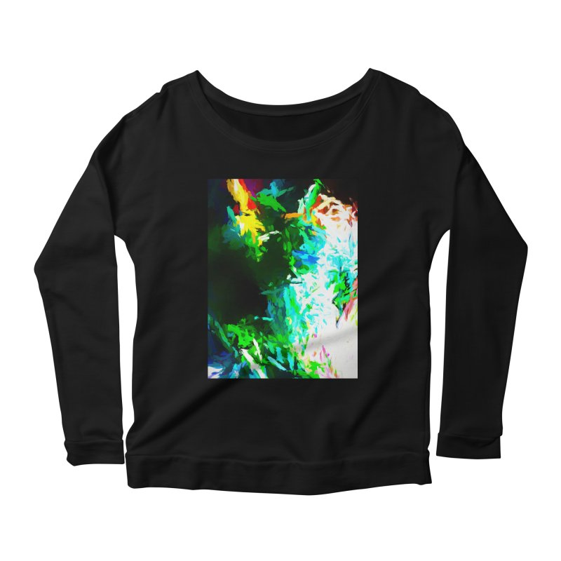 Abyss at the End of the Rainbow Women's Scoop Neck Longsleeve T-Shirt by jackievano's Artist Shop
