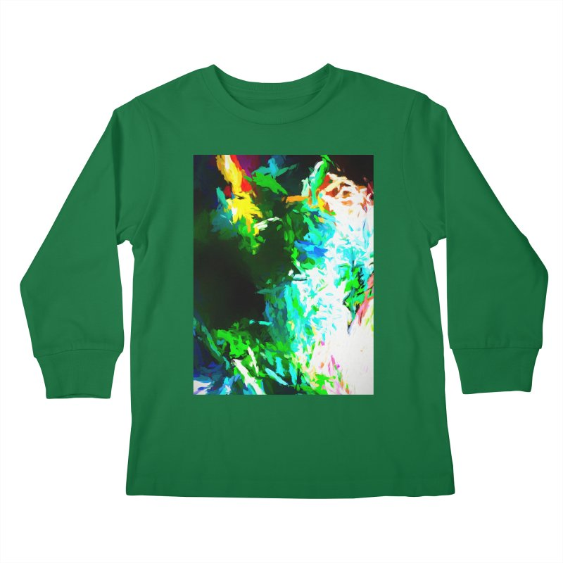 Abyss at the End of the Rainbow Kids Longsleeve T-Shirt by jackievano's Artist Shop
